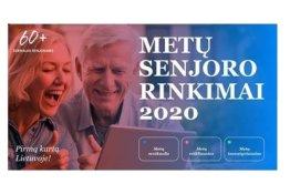 """Kviečiami dalyvauti rinkimuose """"Metų senjoras 2020""""!"""