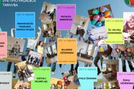 Raseinių rajono švietimo pagalbos tarnybos Atviras jaunimo centras. Balandžio mėnesio apžvalga.