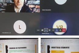 """Virtualios konsultacijos """"Pasirengimas nuotoliniam mokymui"""""""
