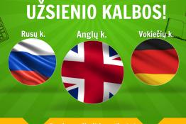 Laikas išmokti užsienio kalbos!