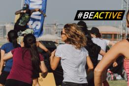 """""""Be active night Raseiniai 2021"""" Europos sporto savaitės renginys Raseiniuose"""