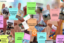 Raseinių rajono švietimo pagalbos tarnybos Atviras jaunimo centras. Kovo mėnesio apžvalga.