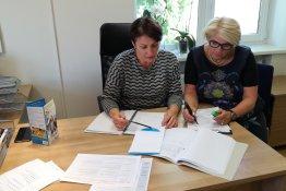 """Raseinių rajono švietimo pagalbos tarnyba dalyvavo 2018 m. """"Erasmus+"""" suaugusiųjų švietimo 1 pagrindinio veiksmo finansuojamų KA104 projektų konkurse"""