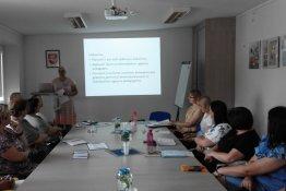 Apskritojo stalo diskusija su Raseinių rajono ugdymo įstaigų priešmokyklinio ir ikimokyklinio ugdymo pedagogais