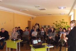 Dr. J. Daugėlienės monografija – autorinis seminaras
