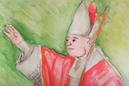 Popiežiaus Jono Pauliaus II-ojo metus palydint