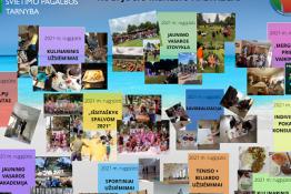 Raseinių rajono švietimo pagalbos tarnybos Atviras jaunimo centras. Rugpjūčio mėnesio apžvalga