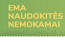EMA aplinka nemokamai iki 2020 mokslo metų pabaigos